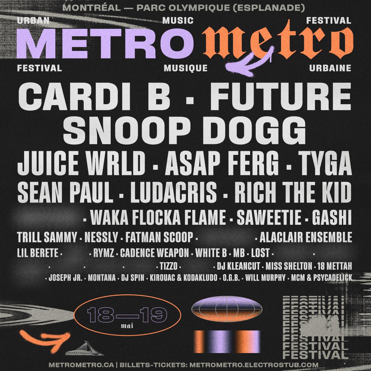 Dévoilement de la programmation du Festival Metro Metro